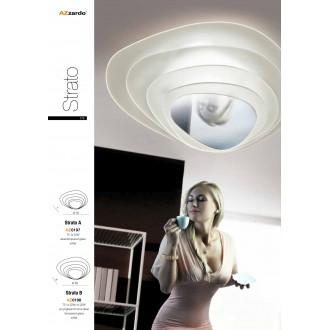 AZZARDO 0197 | Strato Azzardo stropne svjetiljke svjetiljka 1x G5 / T5 krom, bijelo