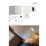 AZZARDO 2963 | Raggio Azzardo zabudovateľné svietidlo 1x LED 240lm 3000K biela