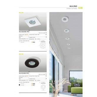AZZARDO 2865 | Ika-AZ Azzardo beépíthető lámpa 1x GU10 IP65 fehér