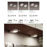 EGLO 94515 | Lavaio Eglo osvetlenje ploče lampa sa prekidačem Sa kablom i vilastim utikačem 2x LED 560lm 3000K belo