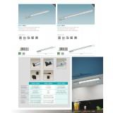 EGLO 94695 | Vendres Eglo osvetlenje ploče lampa sa dodirnim prekidačem 1x LED 550lm 4000K saten