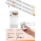 EGLO 97928 | Led-Stripes-Flex Eglo LED traka lampa sa utičnicom 1x LED 1000lm RGBK providno