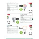 EGLO 11671 | GU10 5W -> 29W Eglo spot LED izvori svjetlosti smart rasvjeta 400lm 2700 <-> 6500K jačina svjetlosti se može podešavati, sa podešavanjem temperature boje, promjenjive boje 70° CRI>80