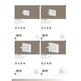 EGLO 33152 | Faedo Eglo svetlomet svietidlo - Samsung Chip štvorec otočné prvky 1x LED 900lm 4000K IP65 biela, priesvitná