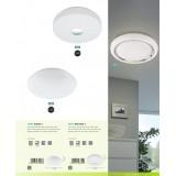 EGLO 96819   EGLO-Connect-Beramo Eglo zidna, plafonjere smart rasveta okrugli jačina svetlosti se može podešavati, promenjive boje 1x LED 2100lm 2700 <-> 6500K belo