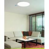 EGLO 97961 | EGLO-Connect-Sarsina Eglo plafonjere smart rasveta daljinski upravljač jačina svetlosti se može podešavati, sa podešavanjem temperature boje, promenjive boje 1x LED 4250lm 2700 <-> 6500K belo