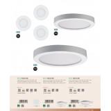 EGLO 97115 | Fueva-RW Eglo zidna, plafonjere LED panel, Relax & Work sa impulsnim prekidačem jačina svetlosti se može podešavati, sa podešavanjem temperature boje 1x LED 2200lm 2700<->4000K belo