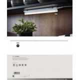 EGLO 97574 | Dundry Eglo zidna, stropne svjetiljke svjetiljka s prekidačem 1x LED 1700lm 4000K bijelo