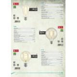 EGLO 11681 | E27 4W -> 25W Eglo Edison ST64 LED izvori svetlosti filament, Spiral 260lm 2200K 360° CRI>80