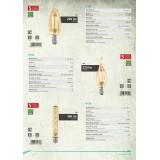 EGLO 11559 | E14 4W -> 22W Eglo dekorativna plamen FC35 LED izvori svetlosti filament 220lm 2200K 360° CRI>80