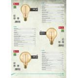 EGLO 11693 | E27 4W -> 30W Eglo velika kugla G95 LED izvori svetlosti filament, golden age 320lm 1700K jačina svetlosti se može podešavati 360° CRI>80