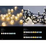 GLOBO 29929-100   Venuto Globo dekoracija svjetiljka sa dodirnim prekidačem 100x LED 3lm IP44 crno