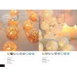 GLOBO 29956-20 | Venuto-III Globo dekoracija svjetiljka s prekidačem 20x LED bijelo