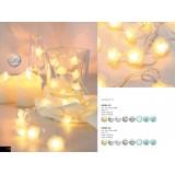 GLOBO 29952-30 | Venuto-VI Globo dekoracija svjetiljka s prekidačem 30x LED bijelo