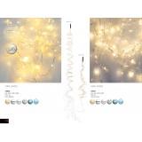 GLOBO 29937 | Girlande Globo dekoracija svjetiljka 90x LED IP44 bijelo