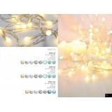 GLOBO 29953-50 | Venuto-VIII Globo dekoracija svjetiljka s prekidačem 50x LED bijelo