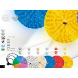 GLOBO 38963 | LightTube Globo svijetleća cijev svjetiljka 144x LED 144lm IP44 plavo