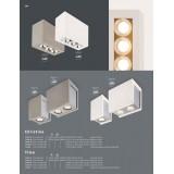 GLOBO 55010-3A | Christine-Timo Globo stropne svjetiljke svjetiljka 1x LED 594lm 3000K krom, bijelo
