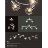 GLOBO 54802-2 | XaraG-I Globo spot lámpa elforgatható alkatrészek 2x E14 króm
