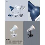 GLOBO 2487 | Basic-I Globo stona lampa sa prekidačem fleksibilna 1x E27 aluminium, srebrno