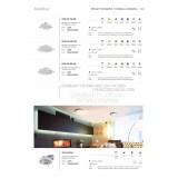 KANLUX 25563 | Liten Kanlux zabudovateľné LED panel kruhový Ø112mm 1x LED 550lm 4000K IP44/20 biela