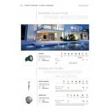 KANLUX 22050 | Gordo Kanlux ugradbena svjetiljka okrugli Ø100mm 1x LED 6200 - 6800K IP66 IK10 plemeniti čelik, čelik sivo, prozirno