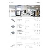 KANLUX 30174 | RSTR-LED Kanlux álmennyezeti armatúra négyzet T8 LED fényforráshoz tervezve 4x G13 / T8 LED UV fehér