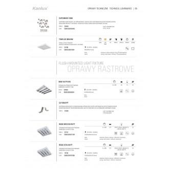 KANLUX 72399 | Kanlux svorka doplnok 4 dielna súprava