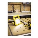 LUTEC 7629701341 | Utin Lutec nosiva reflektor elementi koji se mogu okretati, sa kablom i vilastim utikačem 1x LED 1040lm 5000K IP54 žuto, prozirno
