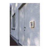 LUTEC 5194301118 | Alice-LU Lutec zidna svjetiljka 1x LED 800lm 3000K IP44 tamno sivo, opal