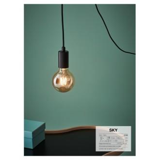 MARKSLOJD 107366 | Sky-MS Markslojd visilice svjetiljka 1x E27 crno