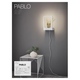 MARKSLOJD 107365 | Pablo-MS Markslojd fali lámpa kapcsoló 1x LED 300lm fehér