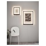 MARKSLOJD 107363 | Frame-MS Markslojd stenové svietidlo prepínač 1x LED 560lm čierna