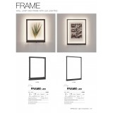MARKSLOJD 107362 | Frame-MS Markslojd stenové svietidlo prepínač 1x LED 400lm čierna