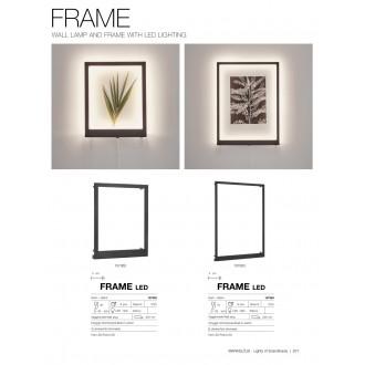 MARKSLOJD 107362 | Frame-MS Markslojd fali lámpa kapcsoló 1x LED 400lm fekete