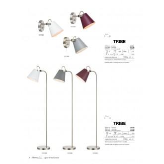 MARKSLOJD 107395 | Tribe-MS Markslojd zidna svjetiljka s prekidačem elementi koji se mogu okretati 1x E14 bijelo, čelik
