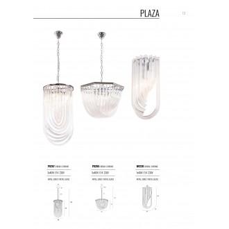 MAXLIGHT P0286 | Plaza-MX Maxlight luster svjetiljka 5x E14 krom, prozirno