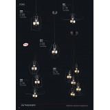 NOWODVORSKI 9665 | Fiord Nowodvorski függeszték lámpa 5x E27 fekete