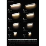 NOWODVORSKI 9612 | Straight-LED Nowodvorski zidna lampa 1x G13 / T8 1600lm 3000K belo