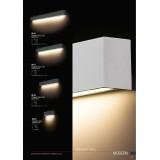 NOWODVORSKI 9616 | Straight-LED Nowodvorski zidna lampa 1x G13 / T8 1600lm 3000K grafit