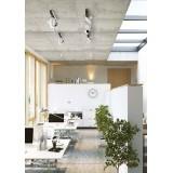 NOWODVORSKI 9600 | Cross Nowodvorski zidna, stropne svjetiljke svjetiljka elementi koji se mogu okretati 5x GU10 / ES111 grafit, bijelo
