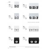 NOWODVORSKI 5315 | BoxN Nowodvorski stropne svjetiljke svjetiljka izvori svjetlosti koji se mogu okretati 1x G53 / AR111 sivo