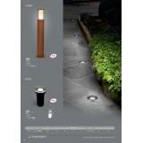 NOWODVORSKI 4454 | Mon Nowodvorski ugradbena svjetiljka Ø67mm 1x LED 68lm 3000K IP67 aluminij, bijelo