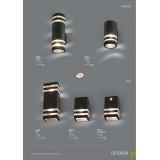 NOWODVORSKI 7017   Rio Nowodvorski fali lámpa mozgásérzékelő, fényérzékelő szenzor - alkonykapcsoló 1x E27 IP54 fekete, áttetsző