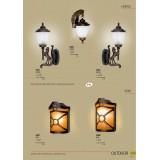 NOWODVORSKI 4902 | Horse Nowodvorski zidna lampa 1x E27 IP44 bronza, opal