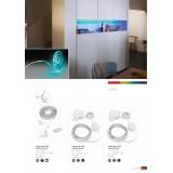 PHILIPS 70101/31/P6 | PHILIPS_LS_RGB_Set Philips LED traka lampa sa tiristorskim prekidačem jačina svetlosti se može podešavati, promenjive boje 1x LED 130lm RGBK belo