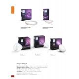 PHILIPS 71901/55/PH | PHILIPS-hue_LightStrip Philips LED traka hue smart rasveta jačina svetlosti se može podešavati, promenjive boje 1x LED 1600lm 2000 <-> 6500K belo