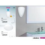 RABALUX 5832 | Cibyll Rabalux zidna, plafonjere lampa 1x E27 IP44 belo