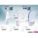 RABALUX 4657 | ParisR Rabalux irányfény lámpa konnektorlámpa 1x LED 5lm 4000K fehér, átlátszó