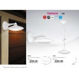 RABALUX 8710 | Oakland Rabalux visiace svietidlo 1x LED 420lm 4000K IP54 matný biely, biela